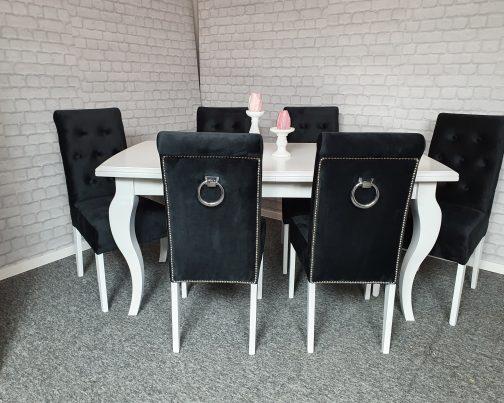 Krzesło LONDON z kołatką