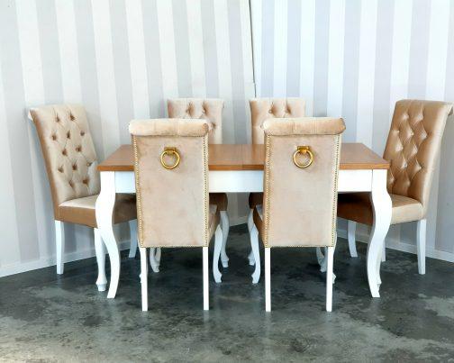 Krzesło VALENCIA LUDWIK  z kołatką